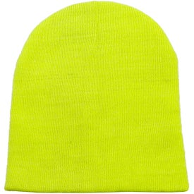 Short Knit Beanie Printed with Your Logo