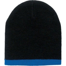 Two Color Beanie with Your Slogan