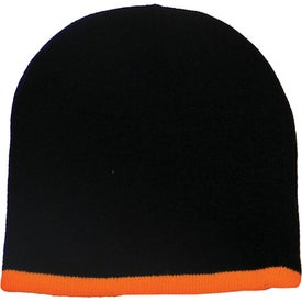 Two Color Beanie with Your Logo
