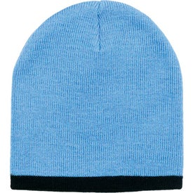 Two Color Beanie Printed with Your Logo