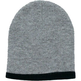 Customized Two Color Beanie