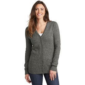 Port Authority Marled Cardigan Sweaters (Women''s)