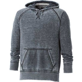 Burnout Fleece Kanga Hoody by TRIMARK Imprinted with Your Logo
