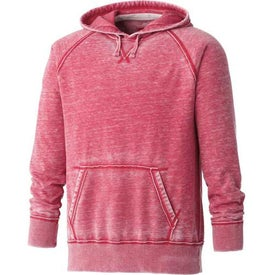 Personalized Burnout Fleece Kanga Hoody by TRIMARK