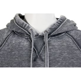 Burnout Fleece Kanga Hoody by TRIMARK with Your Logo
