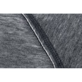 Imprinted Burnout Fleece Kanga Hoody by TRIMARK