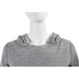 Burnout Fleece Kanga Hoody by TRIMARK Branded with Your Logo
