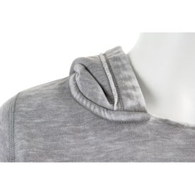 Burnout Fleece Kanga Hoody by TRIMARK for Your Company