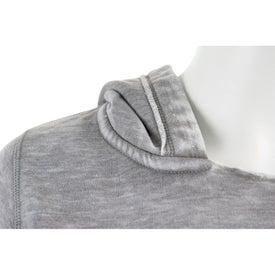 Burnout Fleece Kanga Hoody by TRIMARK for Your Company