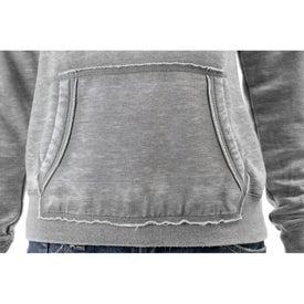 Burnout Fleece Kanga Hoody by TRIMARK Imprinted with Your Logo