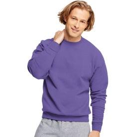 Monogrammed Dark Hanes PrintProXP Comfortblend Sweatshirt