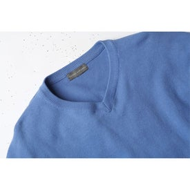 Logo Freeport V-Neck Sweater by TRIMARK