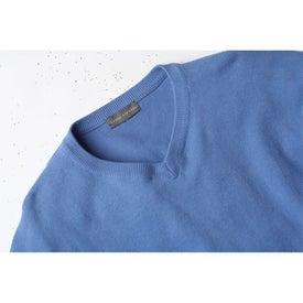 Logo Freeport V-Neck Sweater by TRIMARK