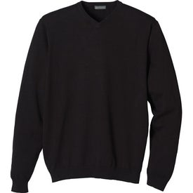 Freeport V-Neck Sweater by TRIMARK Branded with Your Logo