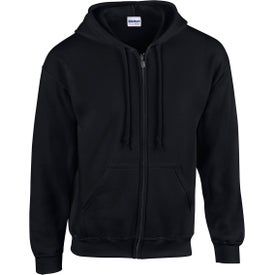 Gildan Adult Heavy Blend Full-Zip Hooded Sweatshirts (Men''s, Colors)