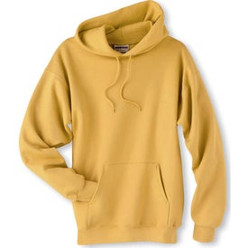 Personalized Light Hanes Ultimate Cotton Hooded Sweatshirt