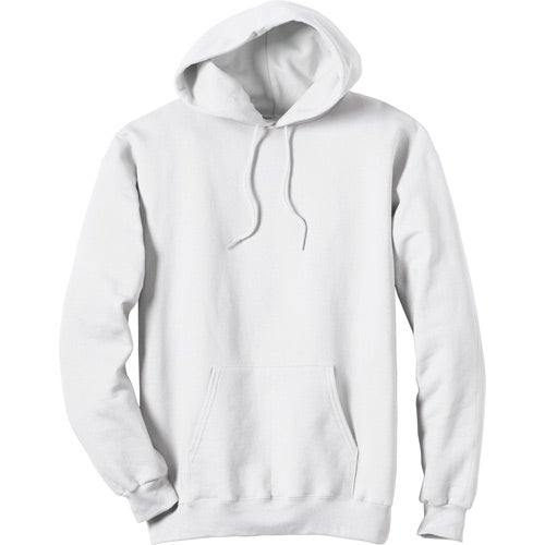 White White Hanes Ultimate Cotton Hooded Sweatshirt