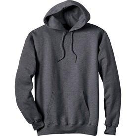 Branded Dark Hanes Ultimate Cotton Hooded Sweatshirt