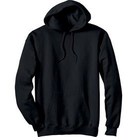 Monogrammed Dark Hanes Ultimate Cotton Hooded Sweatshirt