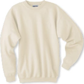 Light Hanes Ultimate Cotton Sweatshirt Printed with Your Logo