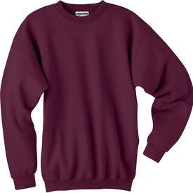 Dark Hanes Ultimate Cotton Sweatshirt Printed with Your Logo