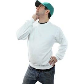 Monogrammed Jerzee NuBlend Crewneck Sweatshirt
