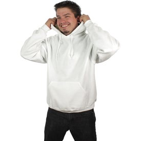 Jerzee NuBlend Hooded Sweatshirt for Promotion