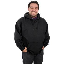 Branded Jerzee NuBlend Hooded Sweatshirt