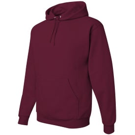 Jerzee NuBlend Hooded Sweatshirt for Advertising