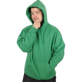 Monogrammed Jerzee NuBlend Hooded Sweatshirt