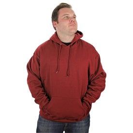 Imprinted Jerzee NuBlend Hooded Sweatshirt