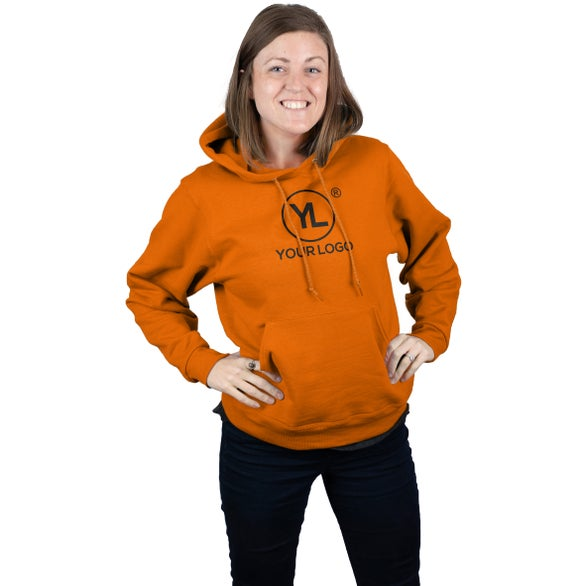 Texas Orange Jerzee NuBlend Hooded Sweatshirt
