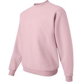 Branded JERZEES SUPER SWEATS Crewneck Sweatshirt