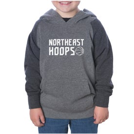 Lightweight Raglan Pullover Hooded Toddler Sweatshirt (Youth)