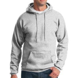 Port & Company Essential Fleece Pullover Hooded Sweatshirt (Men's, Colors)