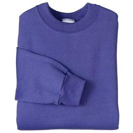 Port and Company Crewneck Sweatshirt Imprinted with Your Logo