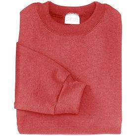 Imprinted Port and Company Crewneck Sweatshirt