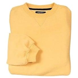 Port Authority Sueded Finish Crewneck Sweatshirt for your School