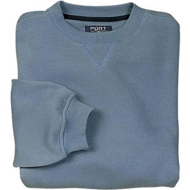 Port Authority Sueded Finish Crewneck Sweatshirt