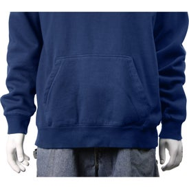 Rhodes Fleece Kanga Hoody by TRIMARK Imprinted with Your Logo