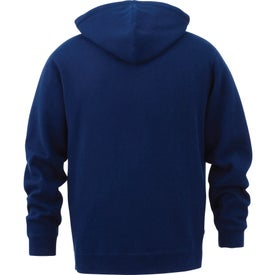 Custom Rhodes Fleece Kanga Hoody by TRIMARK