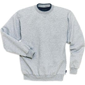 Sport-Tek Crewneck Sweatshirt with Tipped Trim