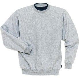 Sport-Tek Crewneck Sweatshirt with Tipped Trim