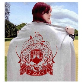 Sweatshirt Blanket for Your Company
