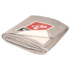 Branded Soft Sweatshirt Blanket