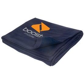 Company Custom Sweatshirt Blanket