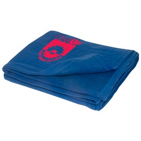 Logo Custom Sweatshirt Blanket