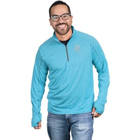 Taza Knit Quarter Zip Sweatshirt by TRIMARK (Men's)