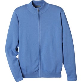 Varna Full Zip Sweater by TRIMARK with Your Logo