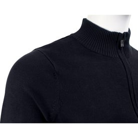 Varna Full Zip Sweater by TRIMARK Branded with Your Logo